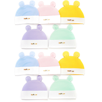Bô 10 nón thỏ màu loại tốt s3 A0138