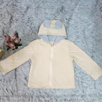 Áo khoác dài tay màu sữa AK02_S MihaBaby