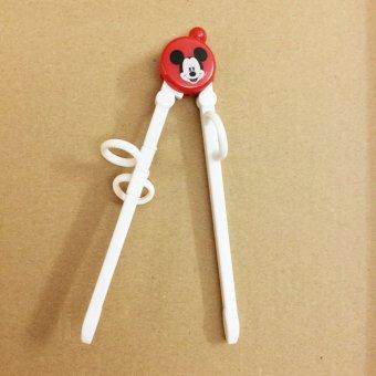 Đũa tập ăn cho bé TM12025 hình Chuột Mickey