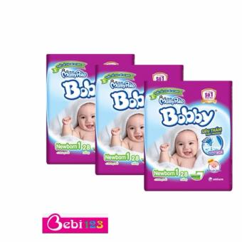 Combo 3 Gói Tã Dán Sơ Sinh Bobby Newborn1-28