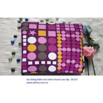 Ga chống thấm vải cotton Korea cao cấp loại m6x2mx10cm