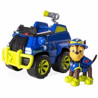 Paw Patrol Xe Cảnh Sát Và Chó Chase Thông Minh