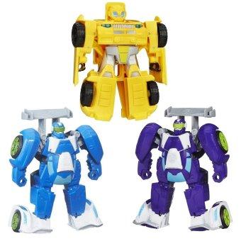 Bộ 3 đồ chơi Robot Transformer Rescue biến hình xe ô tô