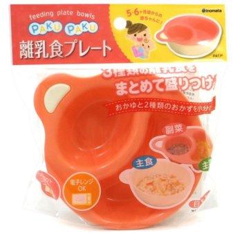 Bát ăn chia khay Paku cho bé ăn dặm Inomata Japan