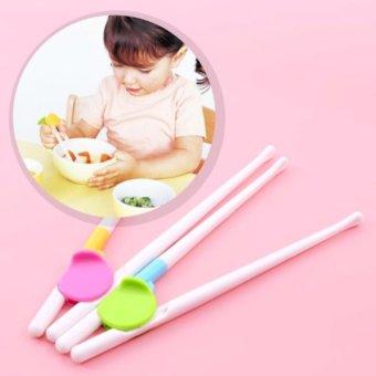 Đũa tập ăn cho bé - hàng Nhật (Trắng)