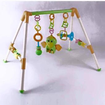 Đồ chơi hình chữ A nhiều màu có nhạc cho bé