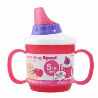 Cốc tập uống có tay cầm màu hồng - 4905596111931