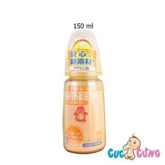 Bình sữa Chuchu cổ thường PPSU-150ml