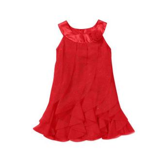 Đầm bé gái Health Essence (Đỏ)