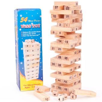 Bộ đồ chơi rút gỗ dễ thương