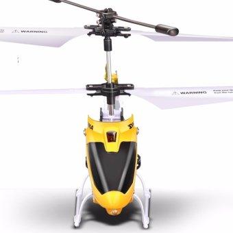 Máy bay trực thăng điều khiển từ xa 3D-W25 (Vàng)