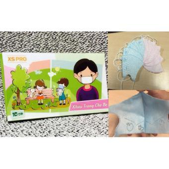 2 hộp Khẩu trang chống khuẩn cho bé