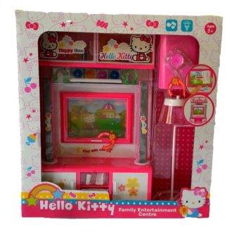 Bộ đồ chơi nhà bếp bằng nhựa dùng pin Hello kitty QF26234HK
