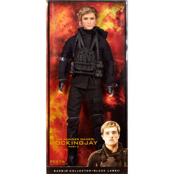 Búp bê Collector The Hunger Games: Mockingjay Part 2 Peeta Doll CJF34 (Đen)