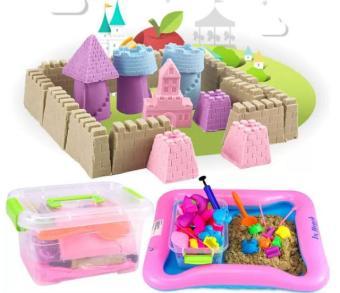 Bộ đồ chơi cát nặn vi sinh 5+ BenHome kích thích sáng tạo cho bé