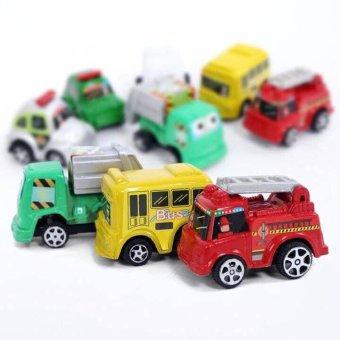 Bộ 06 Ô tô Cao cấp chạy cót Xinh xắn cho các bé