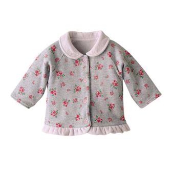 Áo khoác bé gái Family Shop (Be)