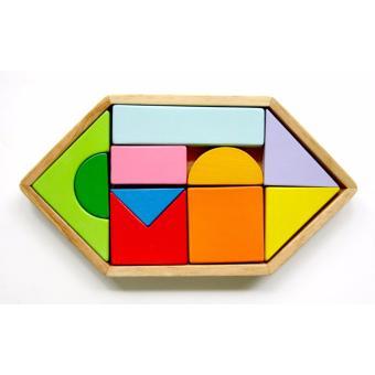 Bộ ghép hình lục giác