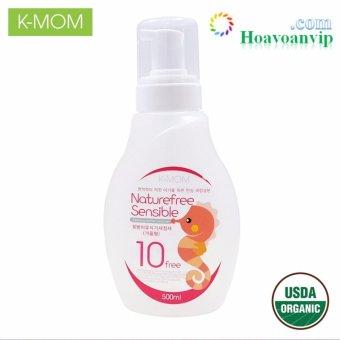 Nước Rửa Bình & Rau Quả Hữu Cơ K-Mom Dạng Chai 500ml VKM13128