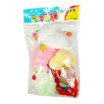 Bộ 5 đôi tất giấy mịn cho bé (từ 3 tháng - 24 tháng) - Phú Đạt