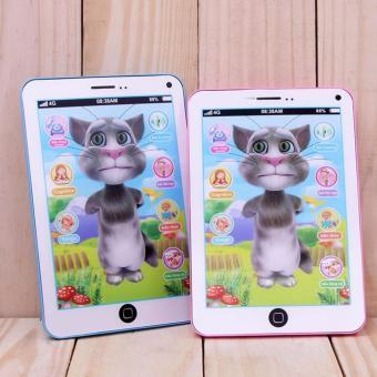 Máy Tính Bảng Mèo Tom Biết Nói Thông Minh(Xanh)