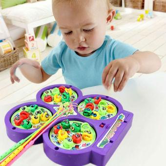 Bộ đồ chơi câu cá 4 hồ cho bé