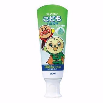 Kem Đánh Răng Cho Bé Lion Japan Hương Dưa lưới 40g