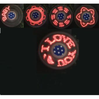 Con quay led Hand Spinner có thể thay pin - hàng nhập khẩu