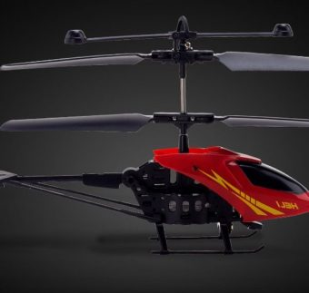 Máy bay điều khiển mini 901 màu đen đỏ -AL