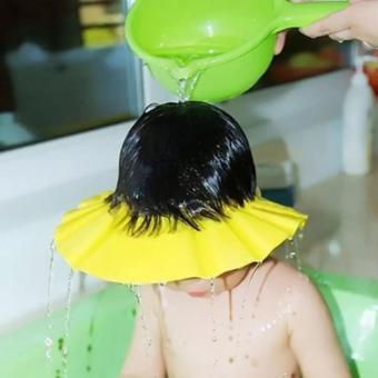 Mũ gội đầu, tắm an toàn cho bé chỉnh 4 cỡ