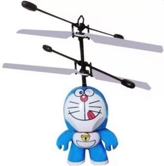 Máy bay hình Doraemon cảm ứng dùng pin sạc