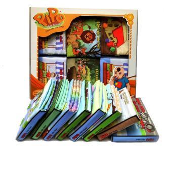 Set 6 sách vải Pipovietnam (Côn trùng, Động vật, Động vật ăn cỏ, Động vật ăn thịt, Sinh vật biển, Cảnh báo Ngã)