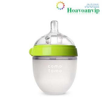 Bình sữa Silicone Comotomo (150ml – màu xanh) CT00011