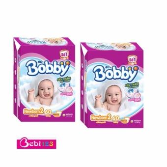 Combo 2 Gói Tã Dán Sơ Sinh Bobby Newborn2-60