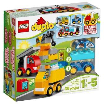Hộp LEGO Duplo 10816 Ôtô Đầu Tiên Của Bé 36 chi tiết