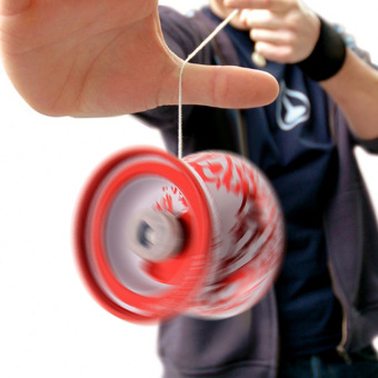 High performance alloy mini-yo hypervelocity triaxial childcare yo-yo toy (Intl)