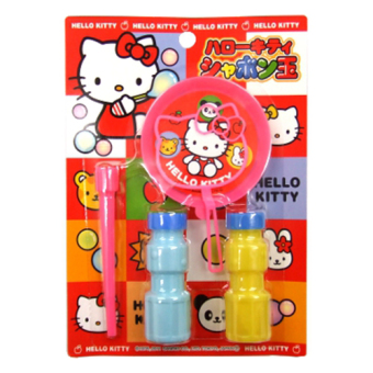 Bộ thổi bong bóng xà phòng Kitty (Japan)