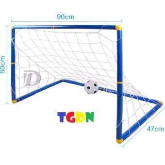 Bộ đồ chơi bóng đá và khung thành cao cấp cho bé yêu cỡ lớn(Trắng)