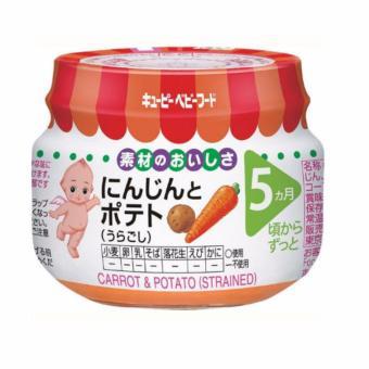 Cà rốt và khoai tây nghiền (Kewpie) 70g