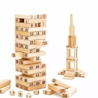 Bộ đồ chơi rút gỗ 54 thanh BiBo Kids-018