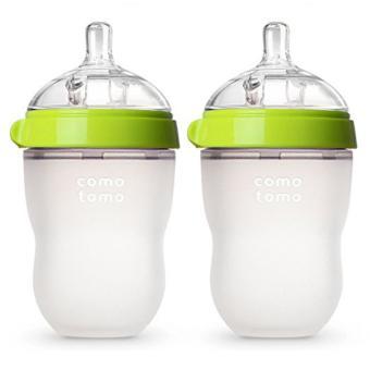 Bộ 2 bình sữa Comotomo siêu mềm 250ml chính hãng