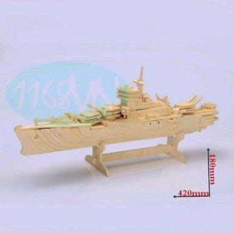 Bộ ghép hình 3D tàu chiến