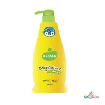 Sữa tắm gội Wesser 500ml - Xanh lá
