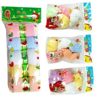 Bộ 5 đôi tất giấy lưới và 15 đôi tất giấy mịn cho bé - Phú Đạt(Nhiều màu)