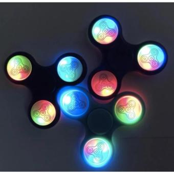 Mua Đồ Chơi Con Quay Giúp Giảm Stress Fidget Spinner Đèn Led 7 Màu giá tốt nhất