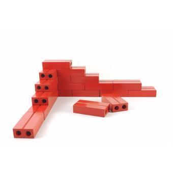 Đồ chơi gạch xây dựng bằng gỗ kích thước 8x4x2cm