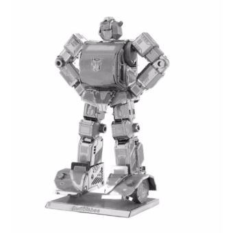 Xếp hình 3d kim loại ROBOT BIẾN HÌNH ĐỘC ĐÁO ALCC