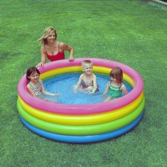 Bể bơi 4 tầng cầu vồng