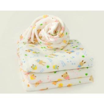 Khăn tắm xô 4 lớp in họa tiết cho bé