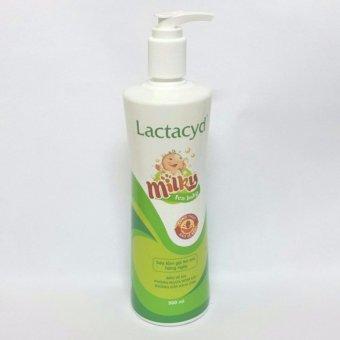 Sữa Tắm Gội Trẻ Em Lactacyd Milk Chai 500ml